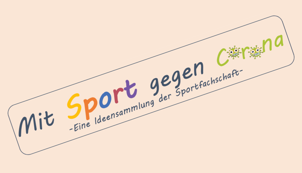 sport gegen corona banner